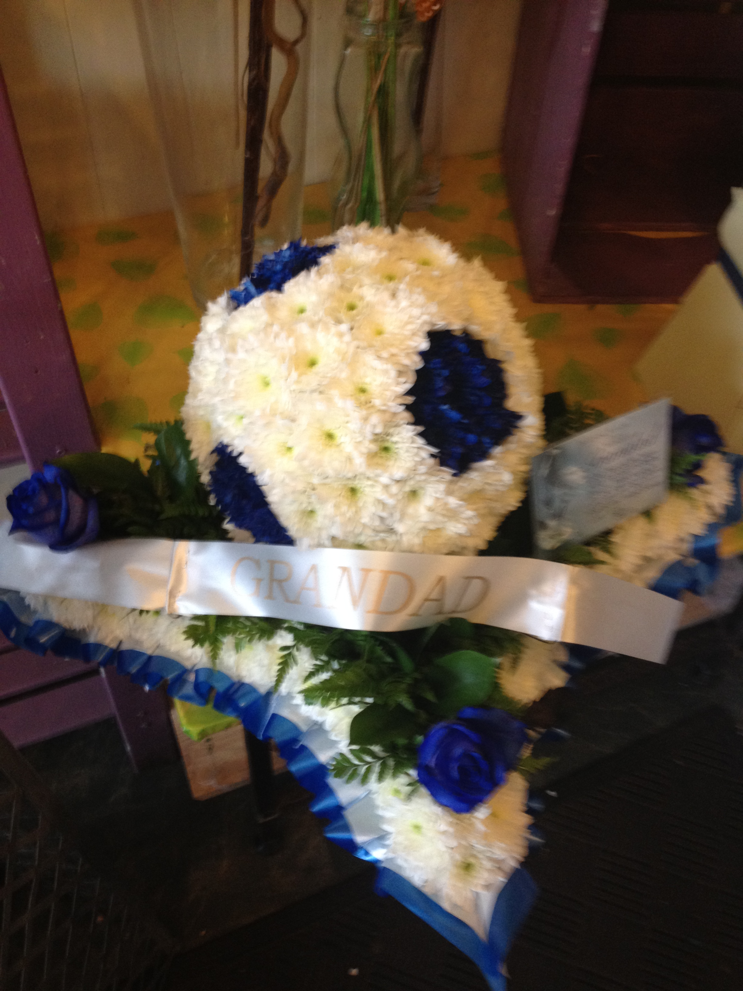 Leicester city football call elja on 0116 2365 894 the personal touch funeral flowers leicester izmirmasajfo Images