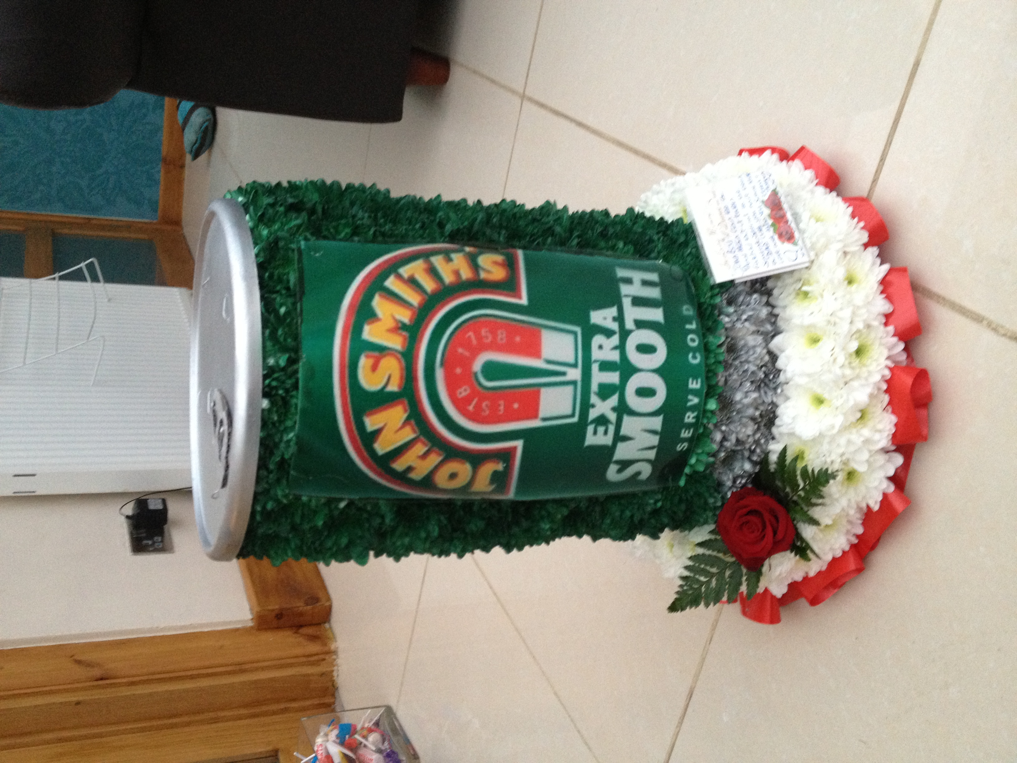 Special funeral tributes archives john smiths beer can 10000 izmirmasajfo